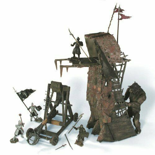 Signore Anelli Lord Rings Pelennor Fields Deluxe Catapult Tower