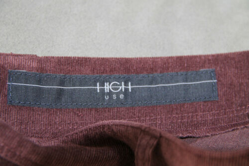 38 Neuf Val 42 Pantalon T High i Use 36 Ras Bordeaux Velours 340€ Étiquette xFwwCHq0v