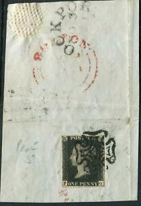 Sg-2-1d-Black-Plate-5-FG-A-very-fine-used-4-margin-example-on-piece