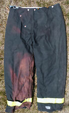 Lion Body Guard Firefighter Turnout Pants Turn Out Gear With Liner 34 X 27