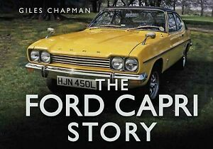 Ford-Capri-Story-Hardcover-by-Chapman-Giles-Like-New-Used-Free-shipping-i