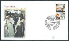 2001 VATICANO VIAGGI DEL PAPA ARMENIA - SV10-4