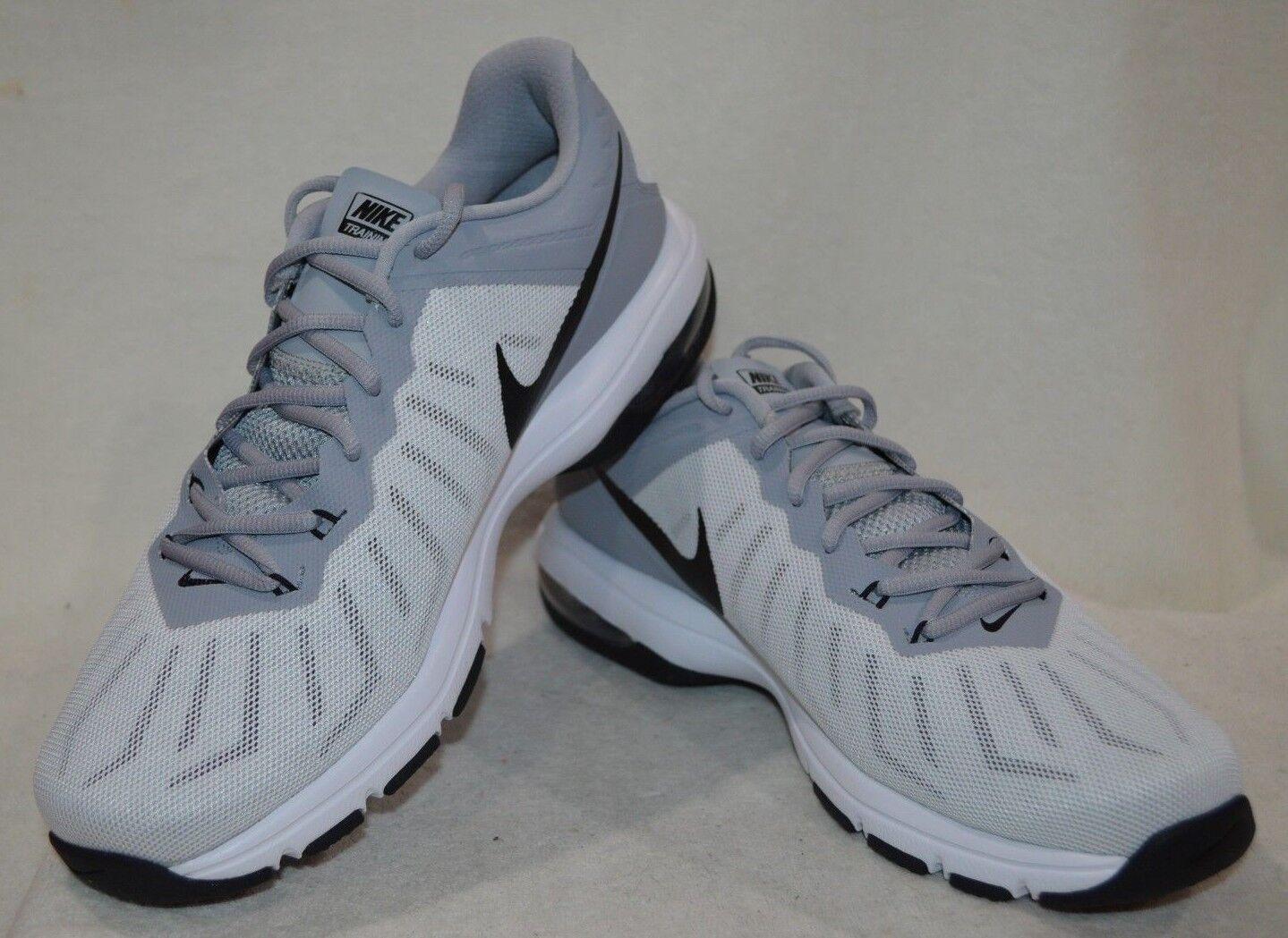 Nike air max giro completo bianco / nero / grigio: gli uomini di formazione scorpe / bianco / nero / grigio nwb