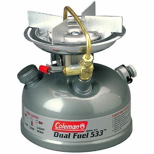 Coleman Sportster Sportster Coleman II Dual Fuel Single Burner Stove Camping Outdoor Cooking 533 67c964