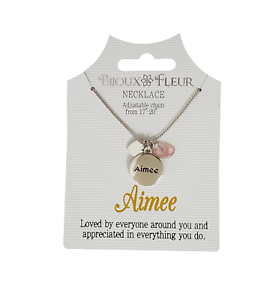 Necklace Message LOVE Letter Pendant Chain Gold Silver Bijoux Free Gift Bag