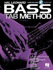 Hal Leonard Bass Tab Method; Book, Sheet Music, CD- Bass Guitar - 9781476899725