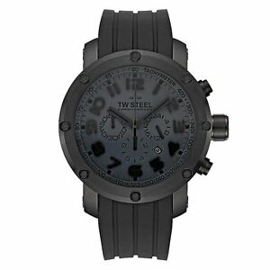 566a7ab27ef TW STEEL Grandeur Tech Chronograph 48mm Gents Watch TW129 - RRP £575 ...