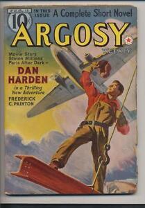 Argosy-Weekly-February-11-1939-Vintage-Pulp-Magazine-Very-Good-Fine