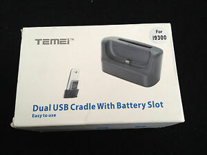 Dual-USB-Cradle-with-Battery-Slot-For-S3-i9300