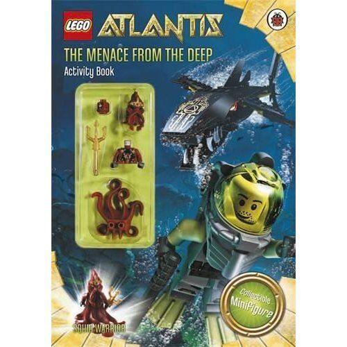Brand New LEGO Atlantis SQUID WARRIOR Figurine /& Activity Book RARE UK Seller