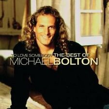 """MICHAEL BOLTON """"TO LOVE SOMEBODY-THE BEST OF"""" 2 CD NEU"""
