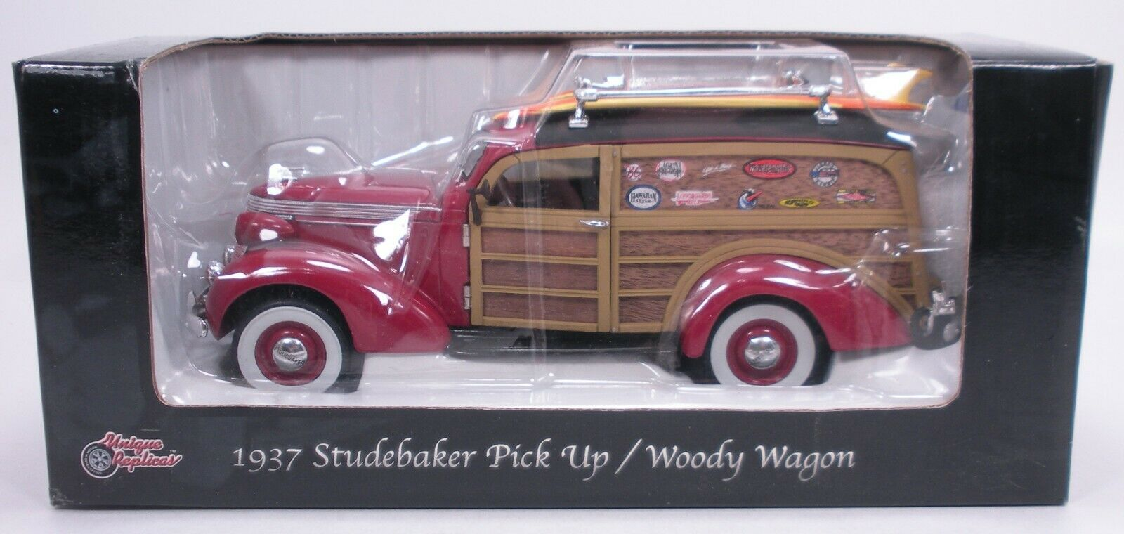 Unique Unique Unique Replicas 1937 Studebaker Woody Wagon 1 24 944