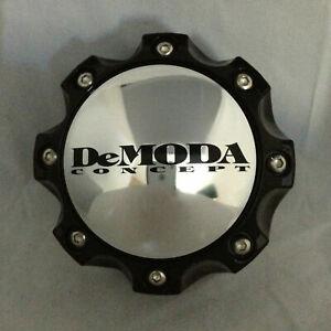 DEMODA-CONCEPT-BLACK-WHEEL-RIM-INTIMIDATOR-2-CENTER-CAP-100-HIGHT-6-LUG
