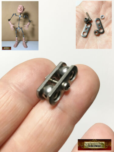 M00882 MOREZMORE HPA M3 Trial 1 Joint Ball Socket Stop-Motion Armature