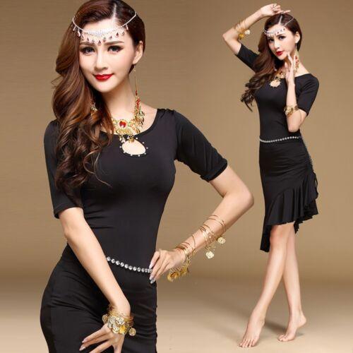 Latin Salsa Tango Cha cha Samba Rumba Ballroom Evening Dance Dress Plus Size