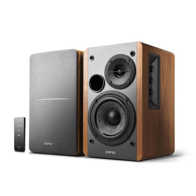 Edifier R1280T Powered Bookshelf Speakers, 2.0 Active Monitor Speaker System