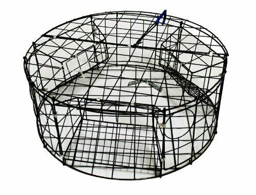 KUFA Vinyl coated Crab  Trap (ø30 xx12 H) with 3 large entrance  save up to 70% discount
