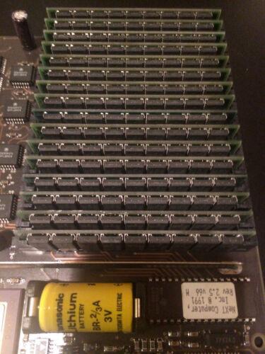 4 = 16mb ram 30pin simms  NeXT Cube NeXTStation 68040 25m NeXT compatible 4Mb
