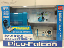Infrared Helicopter PICO-FALCON Pico Blue Falcon Smallest RC Flying Toy JAPAN