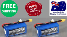 2Pack Turnigy 1500mAh 3S 25C 11.1v Lipo Pack Battery RC Plane Helicopter Lithium