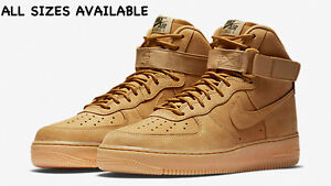 Details about Nike Air Force 1 High 07 LV8 Flax UK 6 7 8 9 10 11 Limited Crep