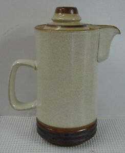 Denby-POTTER-S-WHEEL-RUST-RED-3-1-2-Cup-Coffee-Pot-Mini-with-Lid