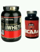 Optimum Nutrition On Gold Standard Whey Protein 1kg Chocolate + Free 120 Bcaas