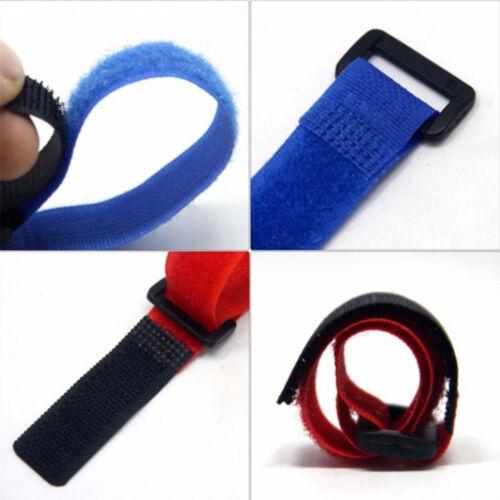 10Pcs Pro Fishing Rod Tie Holder Strap Fastener Ties Fishing Accessories Set