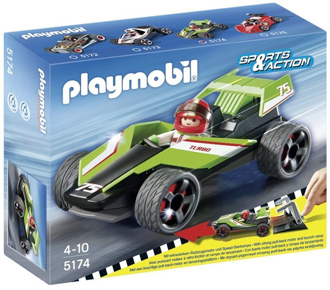 Playmobil - 5174 Sports & Action - Turbo Racer - NUEVO