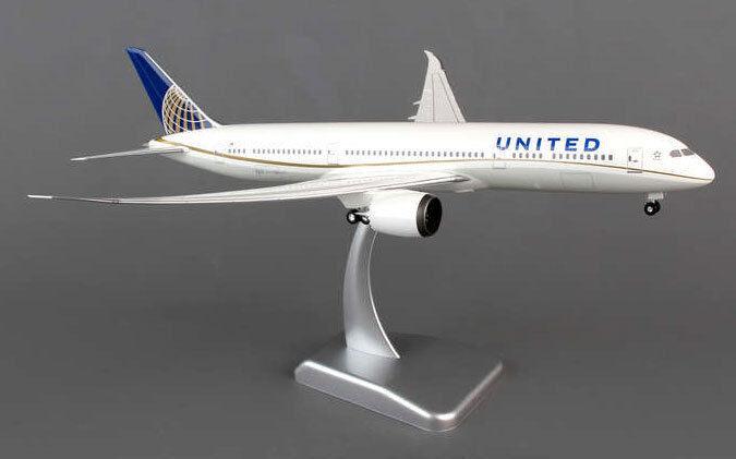 United Airlines Airlines Airlines Boeing 787-9 1:200 hogan wings 0069 b787 Dreamliner b787-9 NEUF | Excellent (dans) La Qualité  6d7c6d