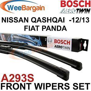 Nissan-qashqai-fiat-panda-veritable-bosch-A293S-aerotwin-essuie-glace-avant-set-de-lames