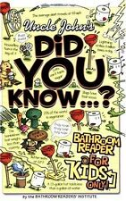 Did You Know... ? by Bathroom Readers' Institute Staff (2006, Paperback)