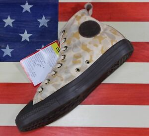 CONVERSE-Chuck-Taylor-ALL-STAR-HI-1970s-Brown-Camo-UNRELEASED-SAMPLE-VTG-159752C