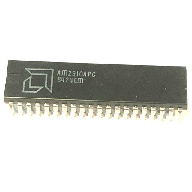 AM9080ADIB 8 Bit Microprocessor C Dip 40 Rare Vintage Ic Cpu Ceramic 1977 AMD