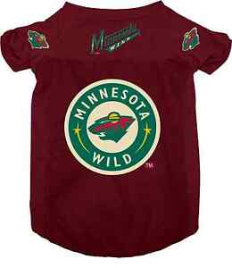 NEW-MINNESOTA-WILD-PET-DOG-MESH-HOCKEY-JERSEY-ALL-SIZES-LICENSED