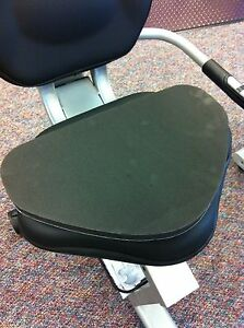 Recumbent Bike Seat Pad Cushion Exercise Cover