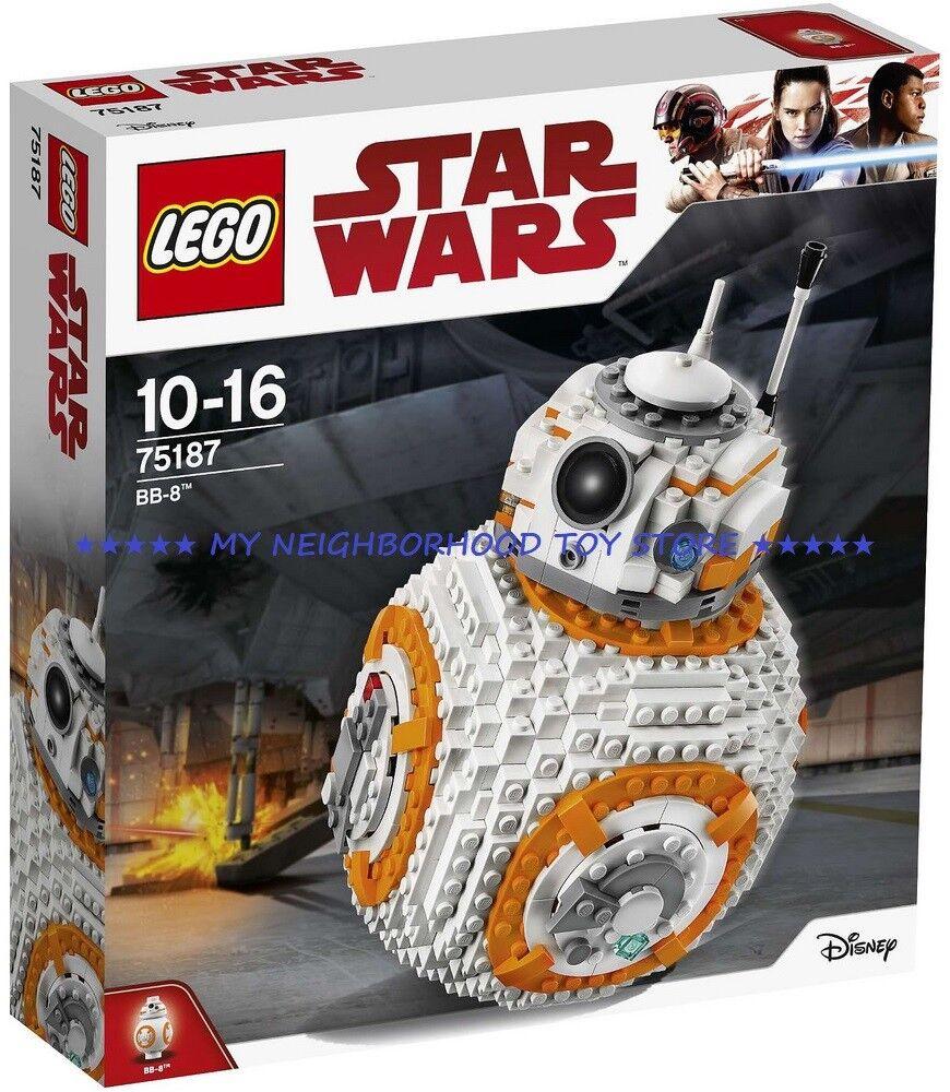 PRONTA CONSEGNA - LEGO 75187 STAR WARS™ BB-8™ - NOVITÀ ESCLUSIVA