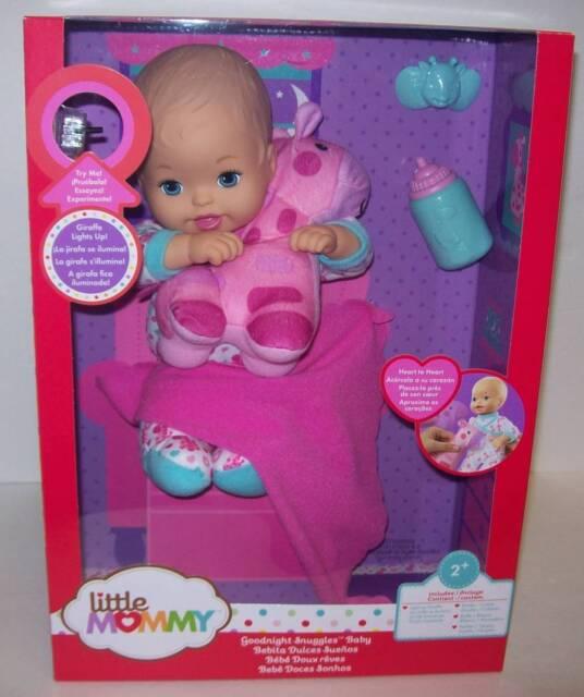 Goodnight Snuggles Little Mommy Baby Girl Doll With Toy Giraffe Ebay