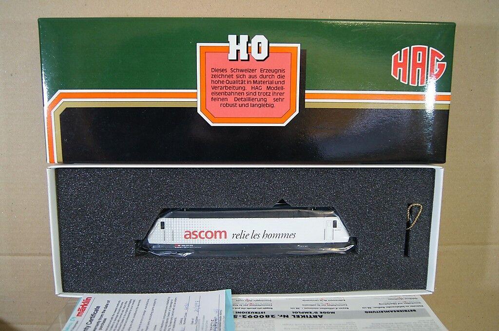 Hag 280 Digital Ac SBB Cff Classe Re 4 4 460 E-Lok Locomotiva 033-4 Ascom MIB Nc