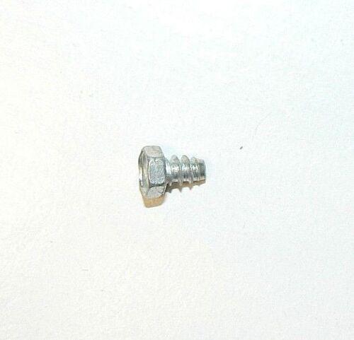 "Zinc Plated #8 x 1//4/"" Indented Hex Head Sheet Metal Screws Lot of 1000 Pcs"