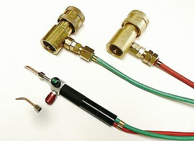 Smith Little Torch Outfit Jewelers Torch Kit with 2 Tips & 2 Pre-Set Regulators