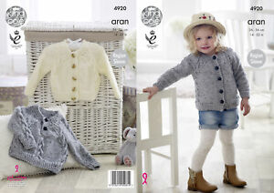 b501d795b Image is loading Girls-Aran-Knitting-Pattern-Cabled-Raglan-Sleeve-Jumper-