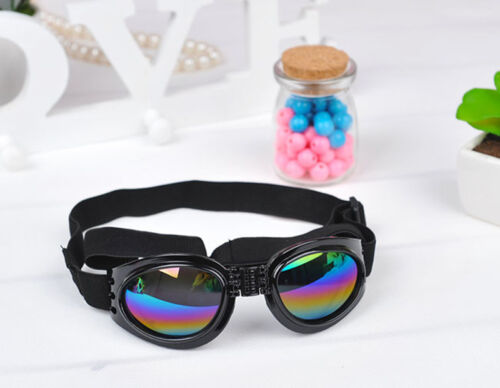 1 pair SMALL PET DOG Goggles Doggles  SUNGLASSES UV Eye Protection~OY