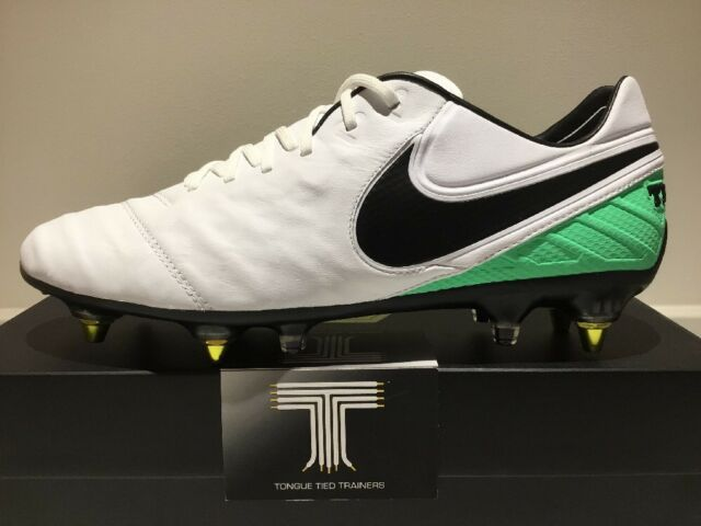 Nike Tiempo Legend VI SG-PRO AC Anti Clog ~ 869483 104 ~ Uk Size 10 ~ Euro 45