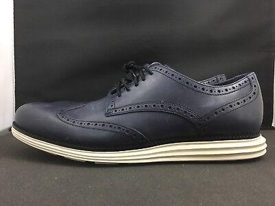 Cole Haan Men's Navy Blue Leather