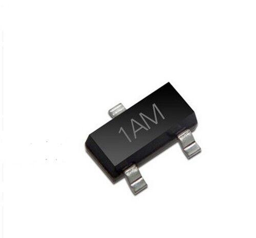 3000PCS MMBT 3904 1AM SOT-23 2N3904 SMD négatif Positif Négatif Transistor