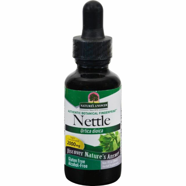 Nature's Answer Alcohol-Free Nettle Leaf, 1-Fluid Ounce