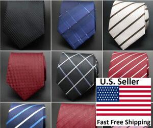 23-Design Classic Fashion Business Formal Men's Tie Necktie Set