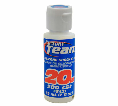 TEAM ASSOCIATED 20 WEIGHT SILICONE SHOCK OIL FLUID 5421 traxxas rc10 losi