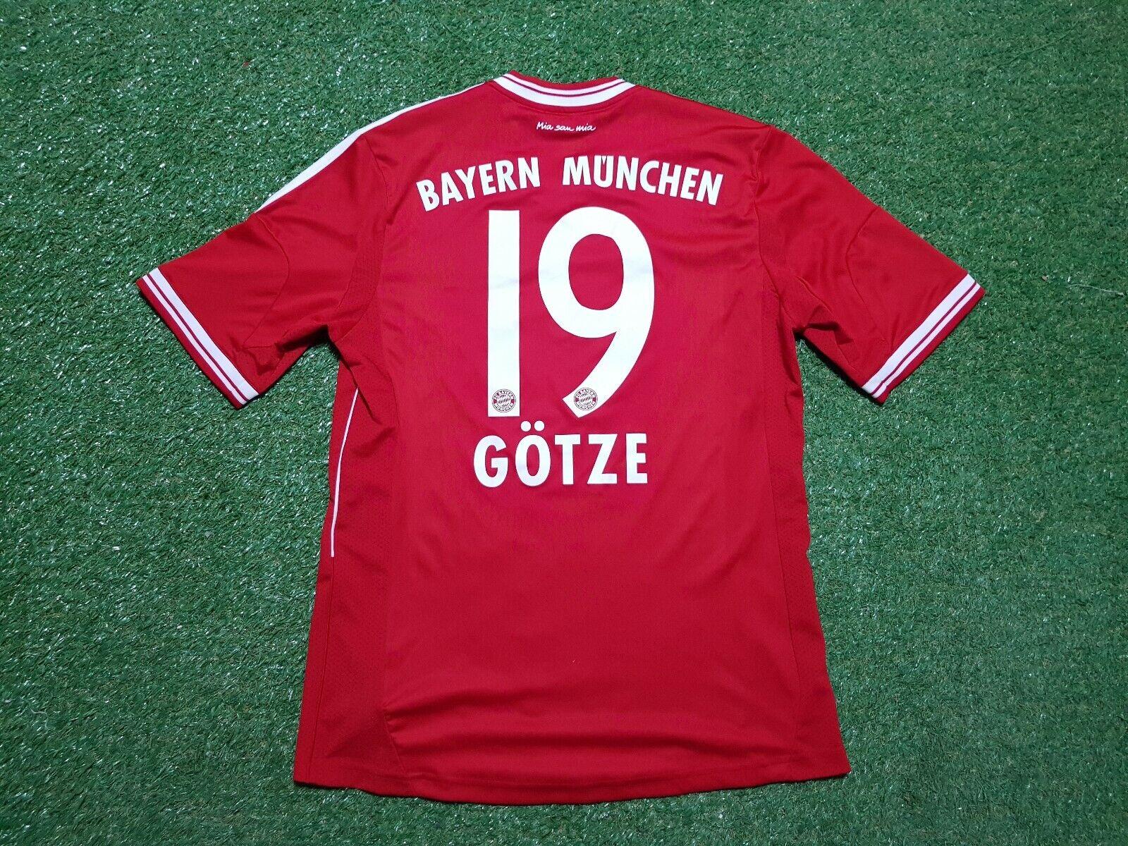FC Bayern München Maglia M 2012 2013 Adidas Maglietta Jersey Munich T Com Idol